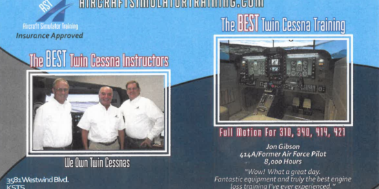 AST Featured in The Twin Cessna Flyer