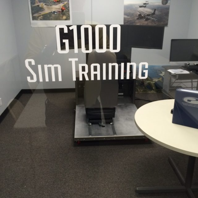 Our G1000 Simulator Training Room