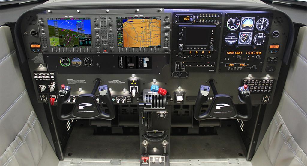 Aircraft Instrument Training in a Flight Simulator