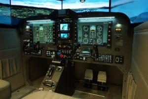 Instrument Training in Flight Simulator