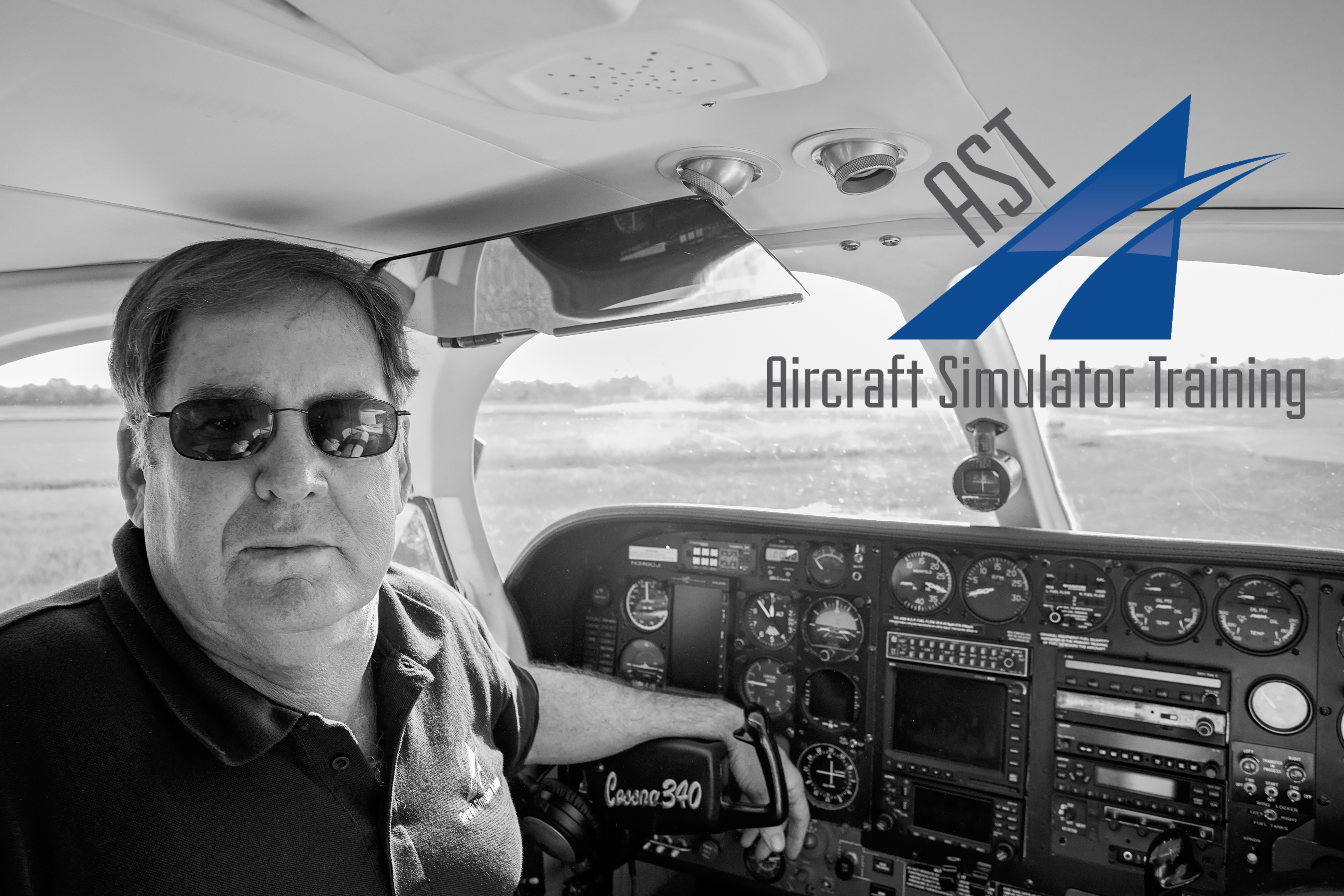 Rick McGuire - Flight Simulator Training, Pilot