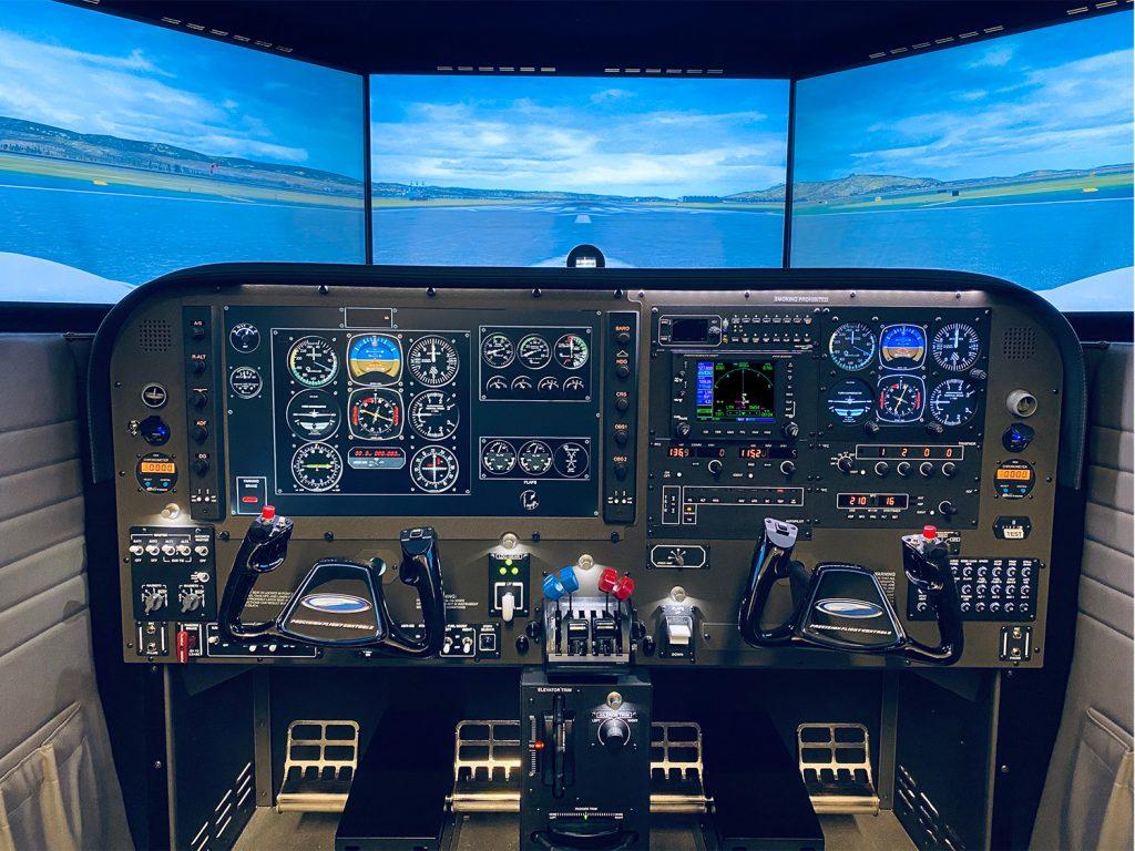 Twin Cessna Simulator Training