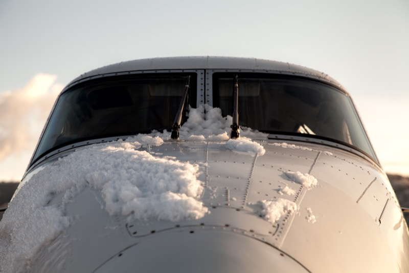 How to handle ice in aircraft