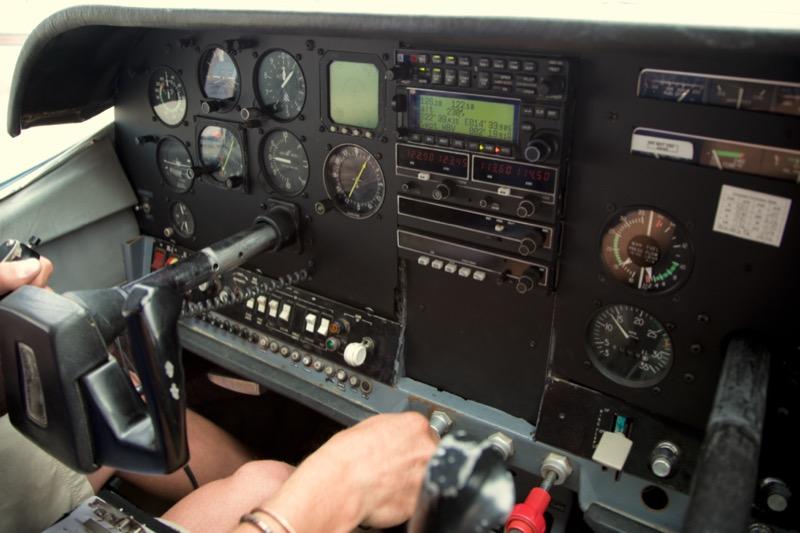 Aircraft under partial power